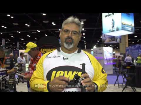 New Lew's BB2 Inshore Wide Speed Spool Casting Reel With Peter T | ICAST 2014