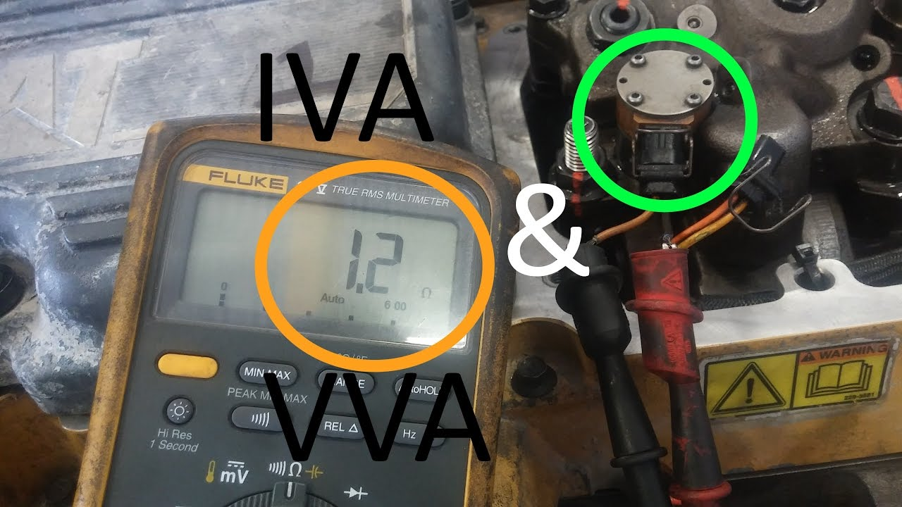small resolution of what is an iva what is a vva and how to fix cat iva codes youtube c15 acert actuator wiring harness