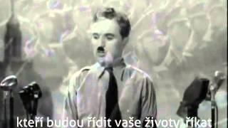 Nejsilnější proslov v dějinách... Charlie Chaplin, 1940