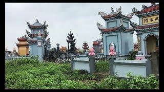 Đi thăm mộ tổ và căn nhà gỗ đẹp tuyệt vời tại quê Nội // Cuộc Sống Canada- Vợ Việt Chồng Tây