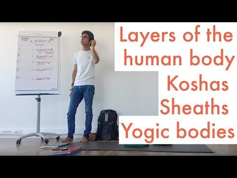 Koshas Sheaths Yogic bodies Layers of the human body   Manoj Bhanot