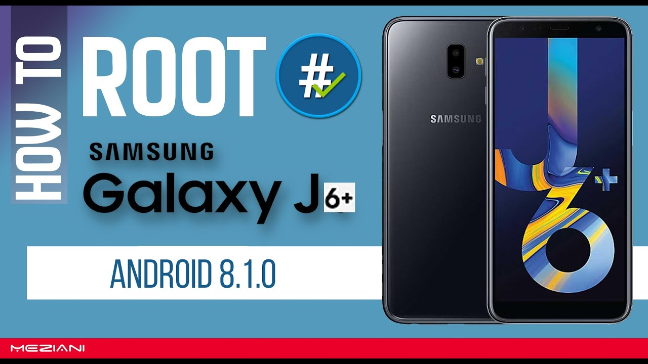How to Root and install TWRP Recovery mode SAMSUNG GALAXY J6 Plus Android  8 1 0