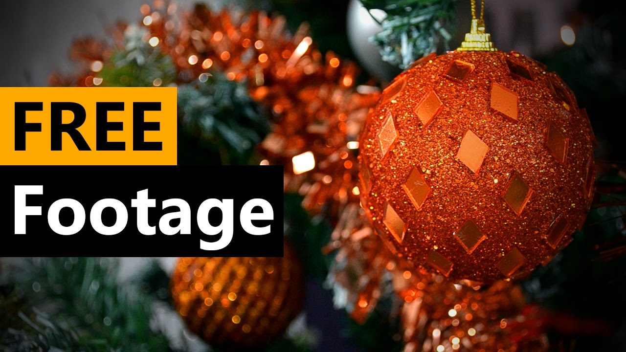 Christmas tree - FREE Stock Video Footage [Download Full HD]
