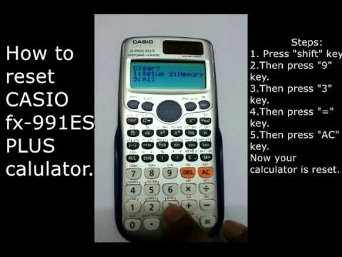 how to use the mean on a casio calculator
