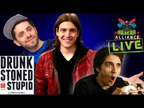 DRUNK STONED OR STUPID LIVE W/ SMOSH GAMES & THE WARP ZONE