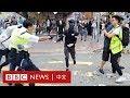 香港西灣河開槍:警察以實彈近距離擊中黑衣人- BBC News 中文