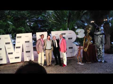 Men In Black 3 Photo Call Con Will Smith, Josh Brolin, Barry Sonnenfeld Y Pitbull