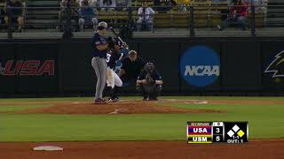 Southern Miss Baseball vs South Alabama Highlights - 04.24.18