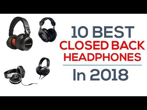 10 Best Closed Back Headphones In 2018