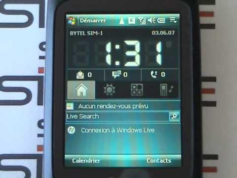 HTC Touch Dual - Doppel Dual SIM Karte 3G HTC Touch Dual Simore Platinum HSPDA