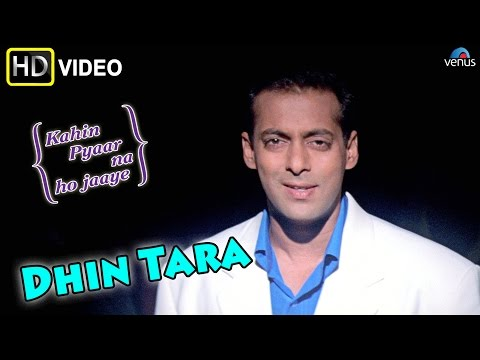 Dhin Tara (HD) Full Video Song | Kahin Pyaar Na Ho Jaaye | Salman Khan, Jackie Shroff |