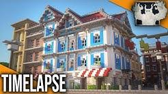 Farbenfrohes Markthaus   Minecraft Timelapse