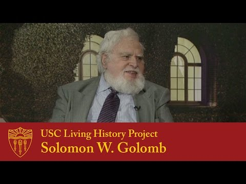 USC Living History Project - Solomon Golomb (2014)