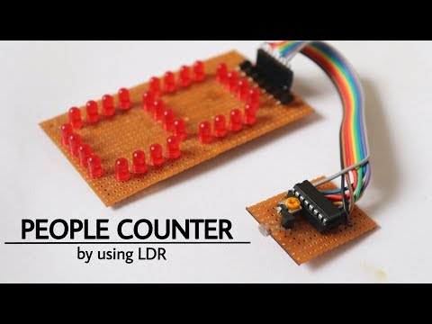 Customer Counter Projects with 4510 IC | FunnyCat TV