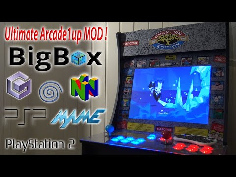 Arcade1up MOD Ultimate Emulation Arcade Game Console ! 😏 from Wicked Gamer & Collector