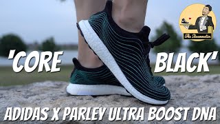 adidas x Parley Ultra BOOST DNA 'Core Black' • On-Feet & Mini-Review