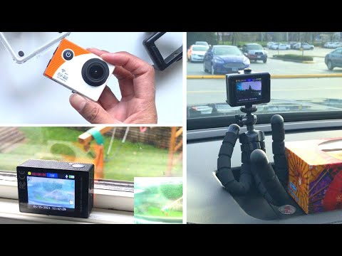 Explore One HD Action Camera Settings (Including Motion Detect & DashCam)