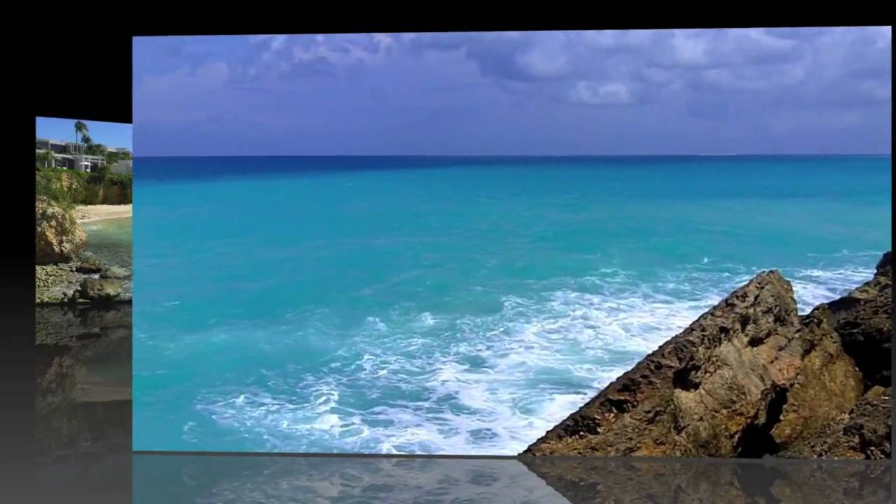 (HD) ANGUILLA BEACHES - MEADS BAY - BARNES BAY - WEST ...