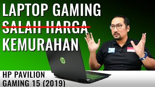 Laptop Gaming Murah-Kencang dengan Core i7-9750H dan GTX 1650: Review HP Pavilion 15 2019