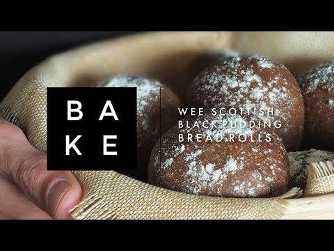 Wee Scottish Black Pudding Bread Rolls Recipe