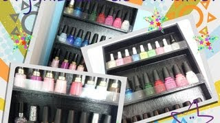 How To Make A Wood Nail Polish Rack