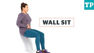 exercise after c section wall sit