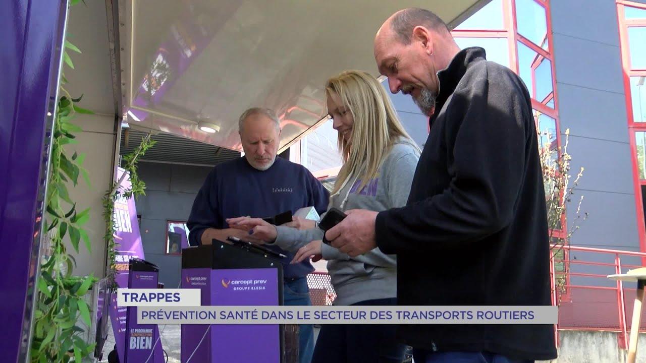 Yvelines | Trappes : prévention santé dans le secteur des transports routiers