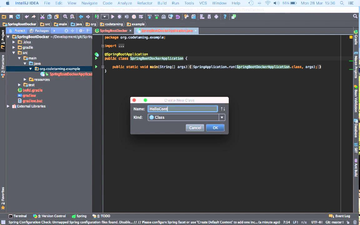 Part 1- Creating a Spring Boot Web Application