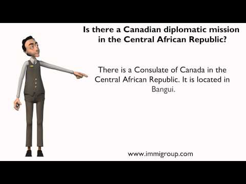 Is there a Canadian diplomatic mission in the Central African Republic?