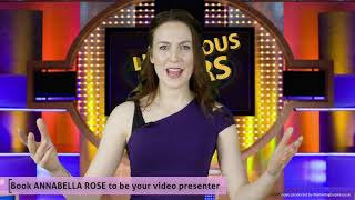 Game show - Presenting Showreel - Annabella Rose