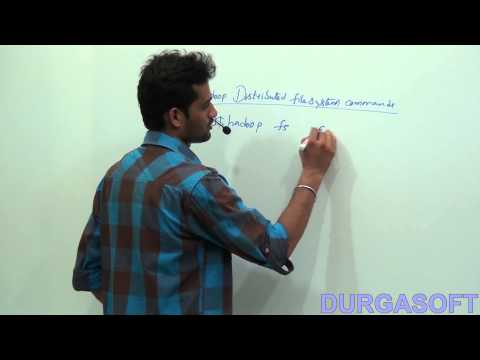 Hadoop distributed file system commands