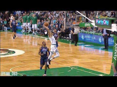 Jayson Tatum Highlights vs Dallas Mavericks (17 pts, 10 reb)