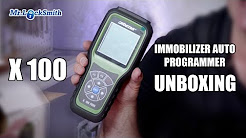 X 100 Immobilizer Auto Key Programmer Unboxing | Mr. Locksmith Video