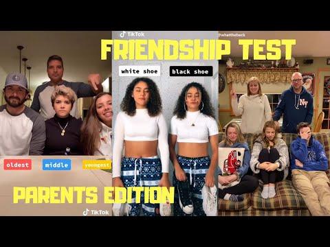 Friendship Test Parents Edition Tiktok