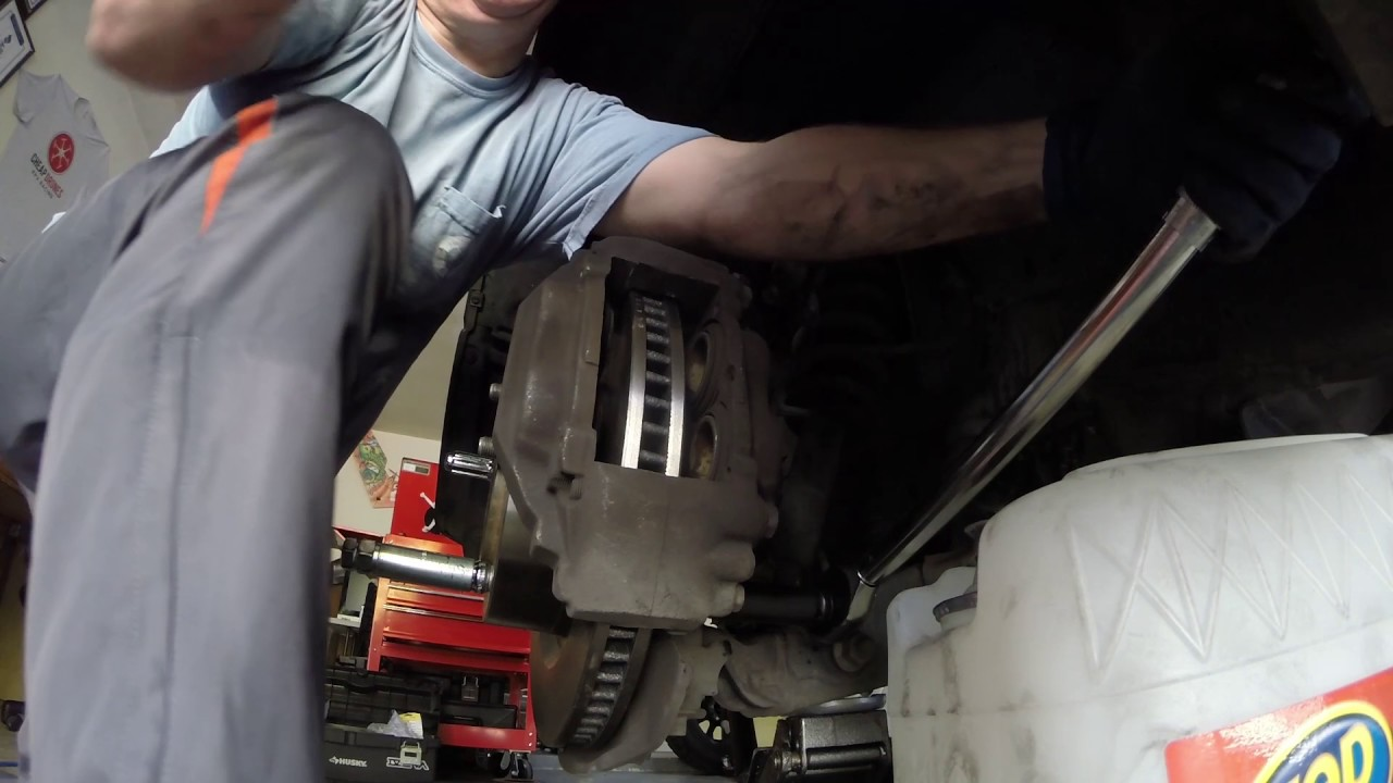 When To Replace Brake Rotors >> 2013 Toyota Tundra Brake Pads and Rotors Replacement - YouTube