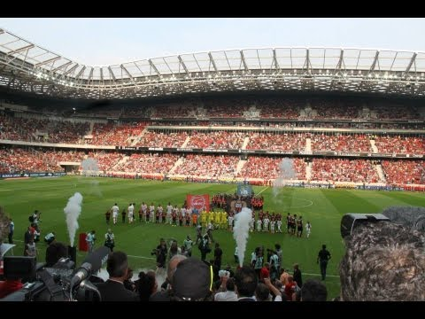 Nice - Inauguration du Stade Allianz Riviera
