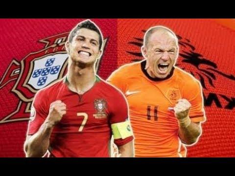 Hasil pertandingan Portugal (0) vs (3) Belanda Goals and haighlight 27 maret 2018