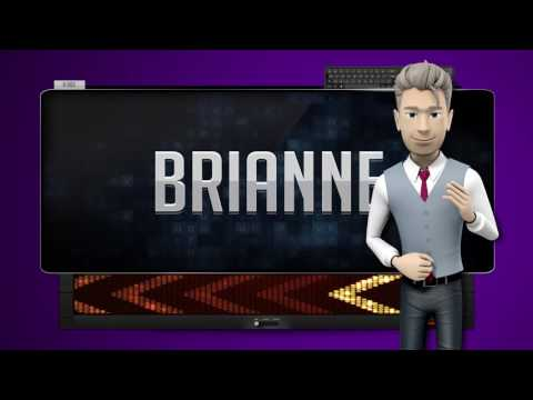 BRIANNE  How to say it Backwards