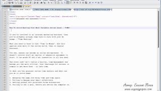 Курс HTML - Урок №26. Предварительное форматирование.