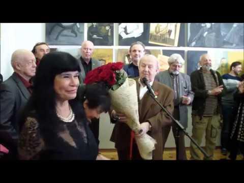 Открытие выставки Татьяны Назаренко, Москва, Российская Академия Художеств, 16 апреля 2019г.