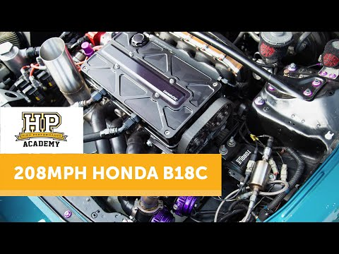 Stock To 1200hp+ 54psi & 208mph | Honda B18C [TECH TALK]