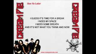 Cream Pie - See Ya Later (w/lyrics) Thumbnail