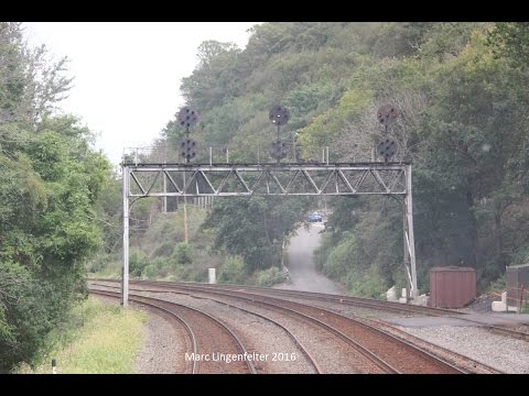 Viewing the NS Pittsburgh Line from Harrisburg to Pittsburgh P1