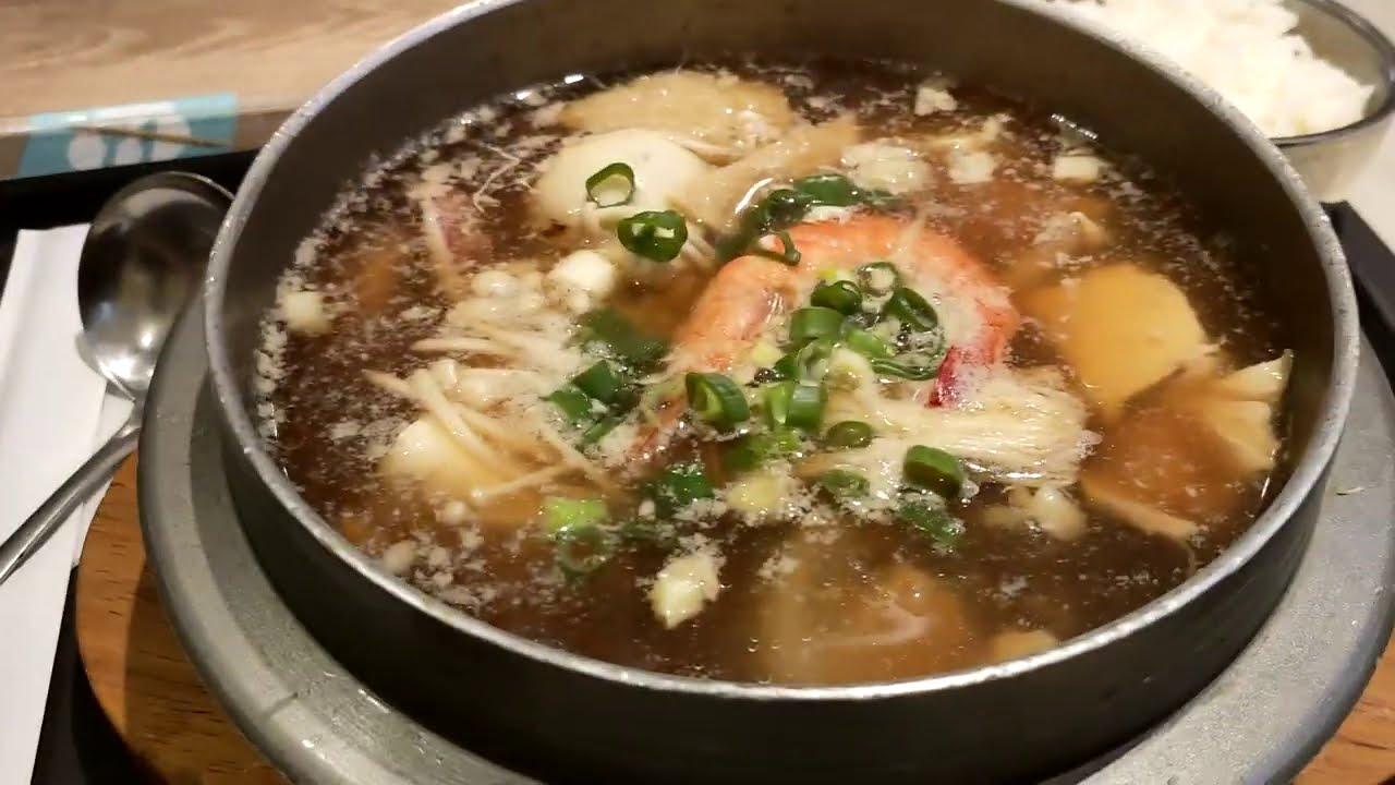 去新天地逛街 地下2F吃了韓國料理晚餐380元【Bobo TV日常】