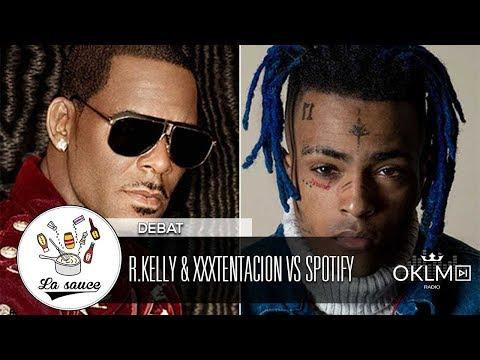 R.KELLY & XXXTENTACION : Spotify a-t-il raison de les bannir de ses playlists ?