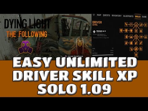 dying light following how to drive car