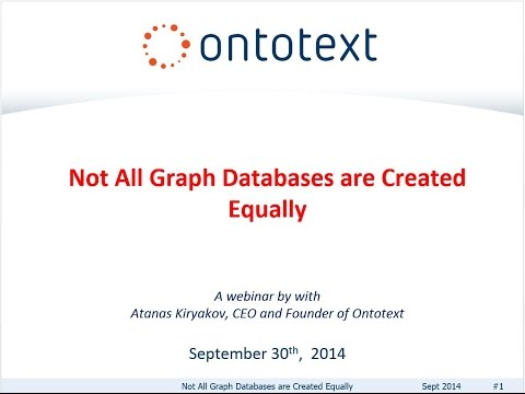 [Webinar Recording] Not All Graph Databases are Created Equally