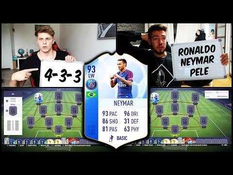 FIFA 18 - 93 TOTGS NEYMAR SQUAD BUILDER BATTLE vs. WAKEZ! 🔥⛔️ Ultimate Team Deutsch