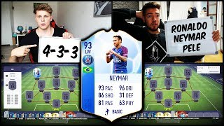 FIFA 18 - 93 TOTGS NEYMAR SQUAD BUILDER BATTLE vs. WAKEZ! 🔥⛔️ Ultimate Team Deutsch