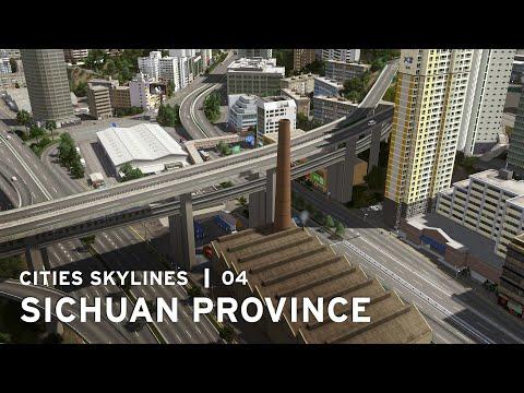 Underground Monorail - Cities Skylines: Sichuan Province - 04